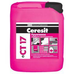 Грунтовка Ceresit CT 17/5 универсальная морозостойкая 5 л