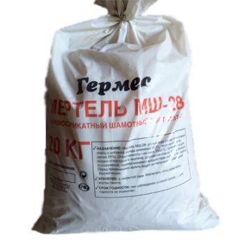 Огнеупорная смесь Гермес мертель МШ28 20 кг