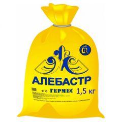 Гипс строительный Гермес алебастр 1,5 кг