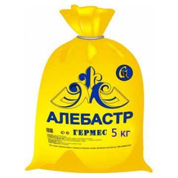 Гипс строительный Гермес алебастр 5 кг