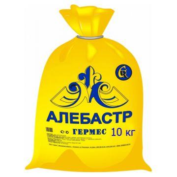 Гипс строительный Гермес алебастр 10 кг