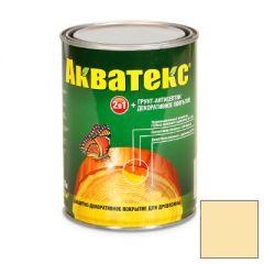 Защитно-декоративное покрытие Акватекс для древесины прозрачный 0,8 л