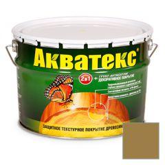 Защитно-декоративное покрытие Акватекс для древесины дуб 10 л