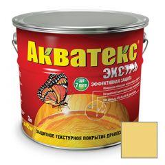 Защитно-декоративное покрытие Акватекс Экстра для древесины сосна 3 л