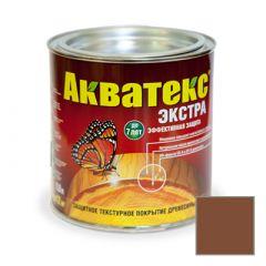 Защитно-декоративное покрытие Акватекс Экстра для древесины палисандр 0,8 л