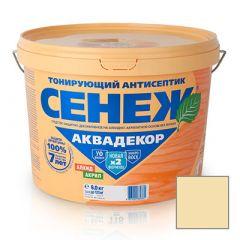 Защитно-декоративное покрытие Сенеж Аквадекор 102 Прозрачный 9 кг