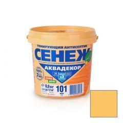 Защитно-декоративное покрытие Сенеж Аквадекор 103 Сосна 0,9 кг