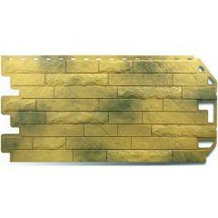 Фасадная панель под кирпич Скалистый камень Альта-Профиль Карфаген