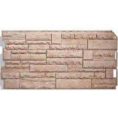 Фасадная панель под камень Скалистый камень Альта-Профиль Алтай