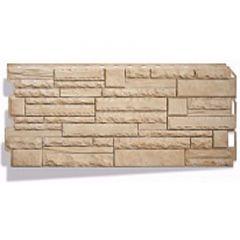 Фасадная панель под камень Скалистый камень Альта-Профиль Анды
