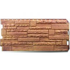 Фасадная панель под камень Скалистый камень Альта-Профиль Памир