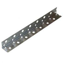 Профиль угловой Албес PL 20х20 мм оцинкованный перфорированный 3000 мм