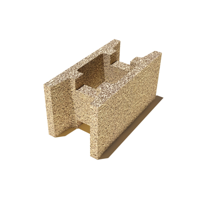 Блок для внутренних и наружных стен Durisol DMI 25/18 (N) 500х250х250 мм