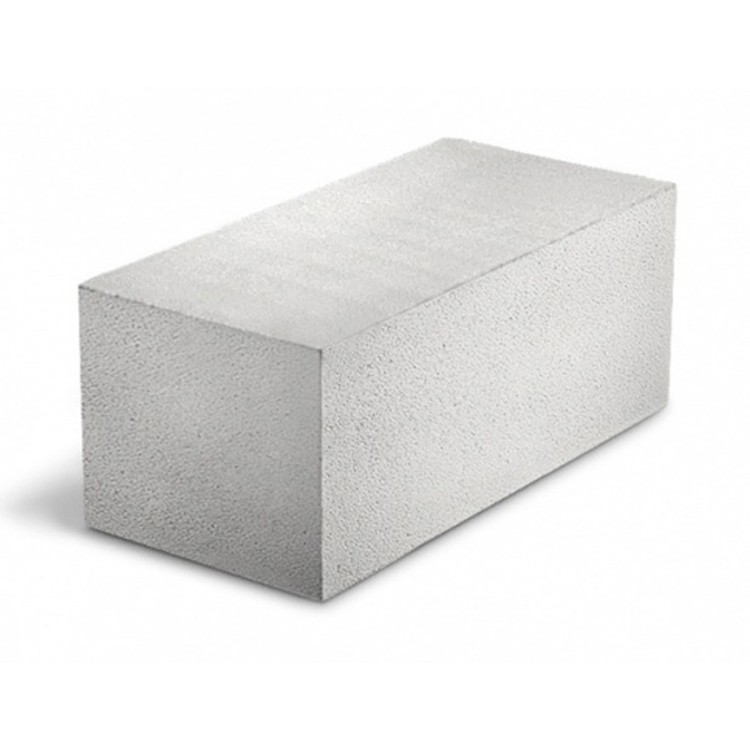 Блок из ячеистого бетона Грас D500 B 3,5 газосиликатный 400х250х625 мм
