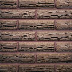 Кирпич облицовочный Terca одинарный евро Terra Антично-колотый