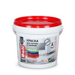Краска акриловая Дали для кухни и ванной база А 0,9 л