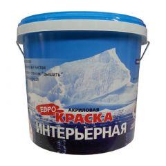 Краска акриловая Farbitex Интерьерная 1,1 кг