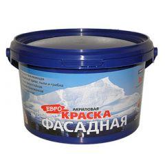 Краска акриловая Farbitex Фасадная 3 кг