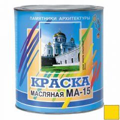 Краска ABC Farben памятники архитектуры МА-15 желтая 25 кг