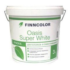 Краска Finncolor Oasis Super white для потолка 3 л