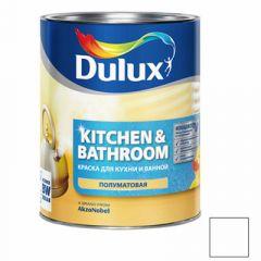 Краска Dulux Kitchens & Bathroom белая полуматовая 2,5 л