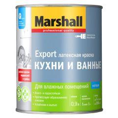 Краска Marshall для кухни и ванной база BW 0,9 л