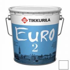 Краска Tikkurila Euro-2 9 л