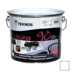 Краска Teknos Futura 90 РМ1 9 л
