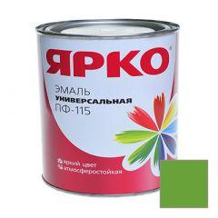 Эмаль Ярославские краски ПФ-115 ЯРКО универсальная светло-зеленая 0,9 кг
