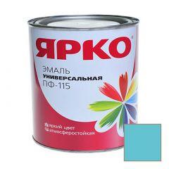 Эмаль Ярославские краски ПФ-115 ЯРКО универсальная бирюзовая 0,9 кг