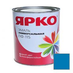 Эмаль Ярославские краски ПФ-115 ЯРКО универсальная голубая 0,9 кг