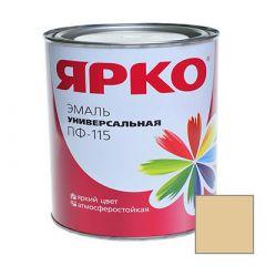 Эмаль Ярославские краски ПФ-115 ЯРКО универсальная бежевая 0,9 кг