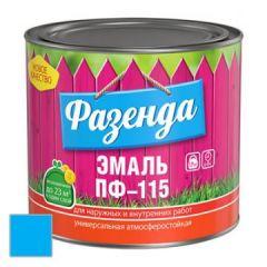 Эмаль Ленинградские краски ПФ-115 Фазенда голубая 20 кг