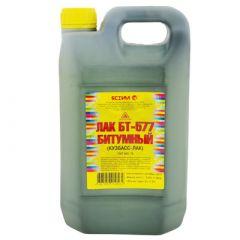 Лак битумный Ясхим БТ-577 Кузбасс-Лак черный 12 кг