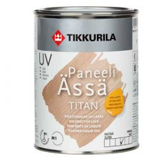 Лак Tikkurila Paneeli Assa Titan полуматовый 10 л