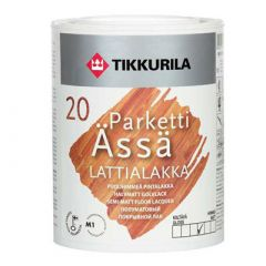 Лак Tikkurila Parketti Assa полуматовый 10 л