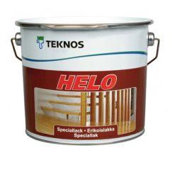 Лак Teknos Helo 40 полуглянцевый 9 л