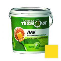 Лак акрилатный Новбытхим Главный Технолог Лимон 0,5 кг