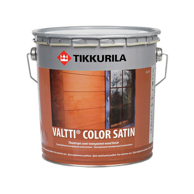 Антисептик Tikkurila Valtti Color Satin EС 0,9 л