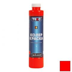Колер-краска Текс №01 красная 0,75 л