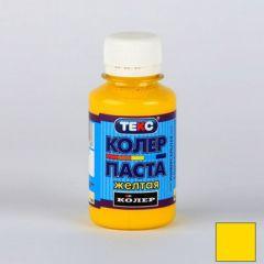 Колер-паста Текс №3 желтая 0,1 л