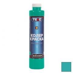 Колер-краска Текс №05 изумрудно-зеленая 0,75 л