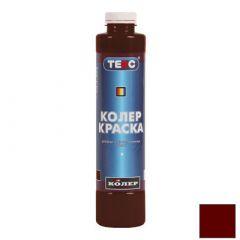 Колер-краска Текс №08 красно-коричневая 0,75 л