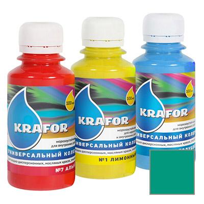 Колер Krafor универсальный изумруд 0,1 л