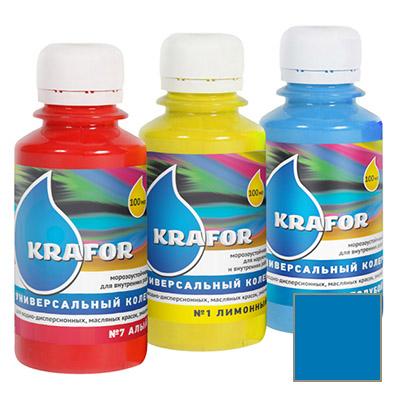 Колер Krafor универсальный голубой 0,1 л