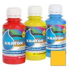 Колер Krafor универсальный желтый 0,1 л