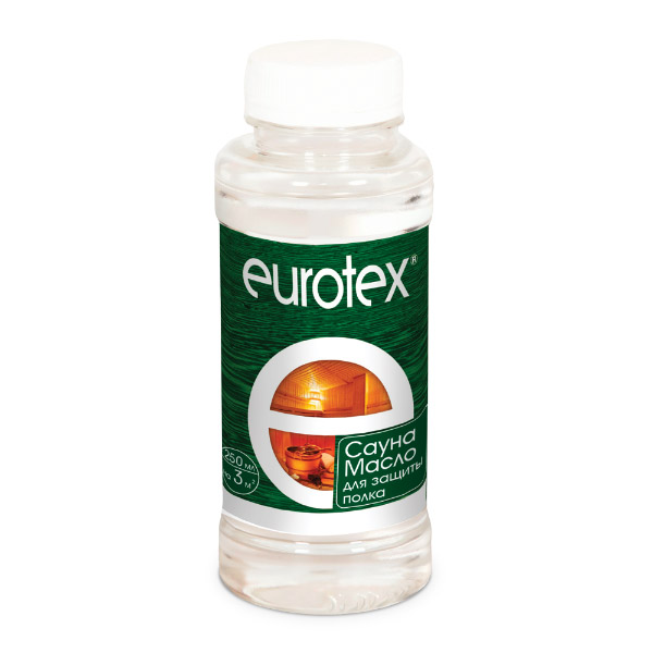 Масло для потолка Eurotex Сауна 250 мл