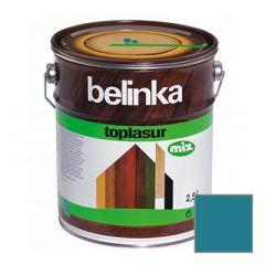 Декоративное покрытие Belinka Toplasur с воском №20 голубое 2,5 л