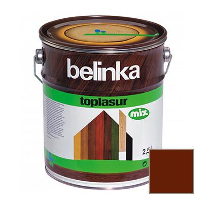 Декоративное покрытие Belinka Toplasur с воском №24 палиссандр 2,5 л