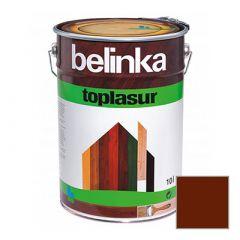 Декоративное покрытие Belinka Toplasur с воском №24 палиссандр 10 л